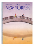 The New Yorker Cover - June 18, 1984 Premium Giclee Print by Susan Davis
