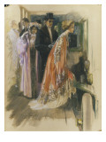 Vogue - November 1908 Regular Giclee Print by Stuart Travis