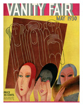 Vanity Fair Cover - May 1930 Premium Giclee Print by Miguel Covarrubias