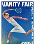 Vanity Fair Cover - August 1932 Premium Giclee Print by Miguel Covarrubias