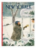The New Yorker Cover - January 27, 1945 Regular Giclee Print by Perry Barlow
