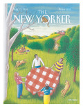 The New Yorker Cover - August 31, 1992 Premium Giclee Print by Bob Knox