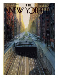 The New Yorker Cover - November 12, 1960 Premium Giclee Print by Arthur Getz
