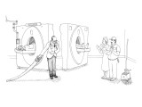 MRI magician - New Yorker Cartoon Premium Giclee Print by Paul Noth