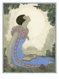 Vogue - May 1926 Premium Giclee Print by Georges Lepape