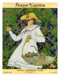House &amp; Garden Cover - March 1916 Premium Giclee Print by Ruth Easton