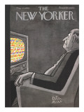 The New Yorker Cover - May 14, 1955 Premium Giclee Print by Peter Arno