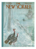 The New Yorker Cover - November 25, 1961 Premium Giclee Print by Frank Modell