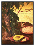 Gourmet Cover - April 1952 Regular Giclee Print by Henry Stahlhut