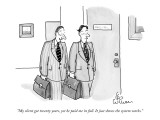 """My client got twenty years, yet he paid me in full. It just shows the sys…"" - New Yorker Cartoon Premium Giclee Print by Leo Cullum"