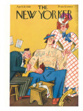 The New Yorker Cover - April 28, 1928 Premium Giclee Print by Julian de Miskey