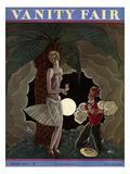 Vanity Fair Cover - February 1929 Regular Giclee Print by Georges Lepape