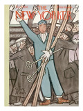 The New Yorker Cover - February 5, 1938 Premium Giclee Print by Peter Arno
