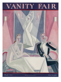 Vanity Fair Cover - March 1924 Regular Giclee Print by Eduardo Garcia Benito