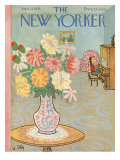 The New Yorker Cover - September 13, 1958 Premium Giclee Print by William Steig