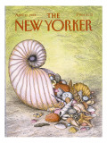 The New Yorker Cover - April 11, 1988 Premium Giclee Print by John O'brien