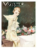 Vogue Cover - June 1933 Premium Giclee Print by Carl &quot;Eric&quot; Erickson
