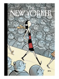 The New Yorker Cover - March 20, 2006 Regular Giclee Print by  Seth