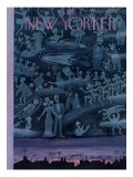 The New Yorker Cover - October 24, 1953 Regular Giclee Print by Charles E. Martin