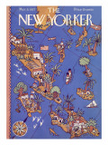 The New Yorker Cover - March 5, 1927 Regular Giclee Print by Ilonka Karasz