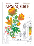 The New Yorker Cover - April 7, 1973 Regular Giclee Print by Joseph Low