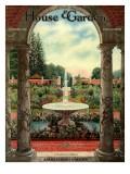 House & Garden Cover - October 1915 Regular Giclee Print by Herbert Angell