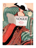 Vogue Cover - March 1912 Regular Giclee Print by George Wolfe Plank