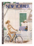 The New Yorker Cover - August 6, 1955 Premium Giclee Print by Rea Irvin