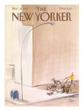 The New Yorker Cover - March 25, 1985 Regular Giclee Print by Paul Degen