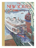The New Yorker Cover - March 25, 1939 Premium Giclee Print by Ilonka Karasz