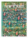 The New Yorker Cover - December 19, 1964 Premium Giclee Print by Anatol Kovarsky