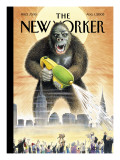 The New Yorker Cover - August 1, 2005 Regular Giclee Print by Harry Bliss
