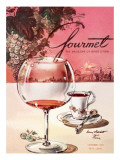 Gourmet Cover - October 1953 Premium Giclee Print by Henry Stahlhut