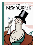 The New Yorker Cover - February 21, 1925 Premium Giclee Print by Rea Irvin