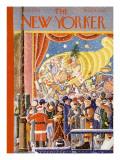 The New Yorker Cover - December 9, 1933 Regular Giclee Print by Ilonka Karasz