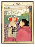 Vogue Cover - June 1920 Premium Giclee Print by Helen Dryden