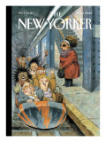 The New Yorker Cover - December 11, 2006 Premium Giclee Print by Peter de Sève