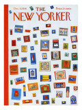 The New Yorker Cover - December 13, 1958 Regular Giclee Print by Anatol Kovarsky
