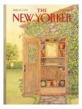 The New Yorker Cover - July 10, 1989 Premium Giclee Print by Jenni Oliver