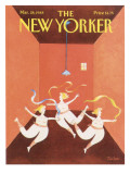 The New Yorker Cover - March 28, 1988 Regular Giclee Print by Robert Tallon