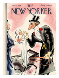 The New Yorker Cover - December 1, 1934 Regular Giclee Print by Leonard Dove