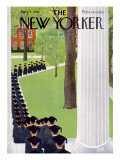 The New Yorker Cover - June 2, 1956 Premium Giclee Print by Charles E. Martin