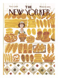 The New Yorker Cover - November 11, 1974 Premium Giclee Print by Laura Jean Allen