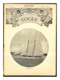 Vogue Cover - June 1902 Regular Giclee Print by Harry Coutant