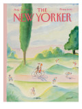 The New Yorker Cover - August 11, 1986 Premium Giclee Print by Jean-Jacques Sempé