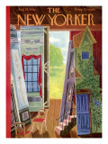 The New Yorker Cover - August 18, 1962 Premium Giclee Print by Ilonka Karasz