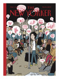 The New Yorker Cover - February 12, 2007 Premium Giclee Print by David Heatley