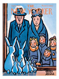 The New Yorker Cover - April 1, 1961 Premium Giclee Print by Peter Arno