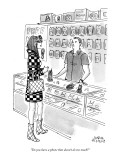 &quot;Do you have a phone that doesn&#39;t do too much?&quot; - New Yorker Cartoon Premium Giclee Print by Marisa Acocella Marchetto