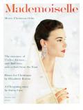 Mademoiselle Cover - December 1955 Regular Giclee Print by Mark Shaw